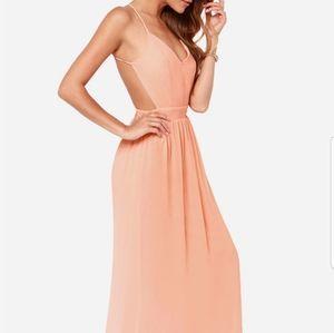 Lulus maxi dress S